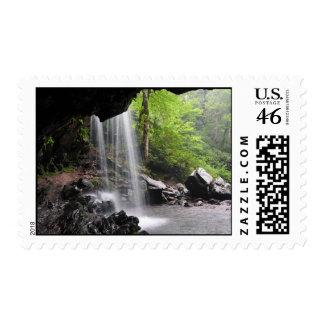 Grotto Falls Great Smoky Mountain National Park Mu Postage
