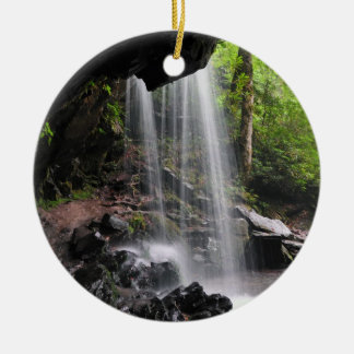 Grotto Falls Smoky Mountain Nat'l Park Ornament