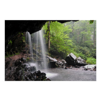 Grotto Falls Smoky Mountain Nat'l Park Poster