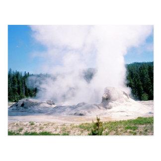 Grotto Geyser Postcard