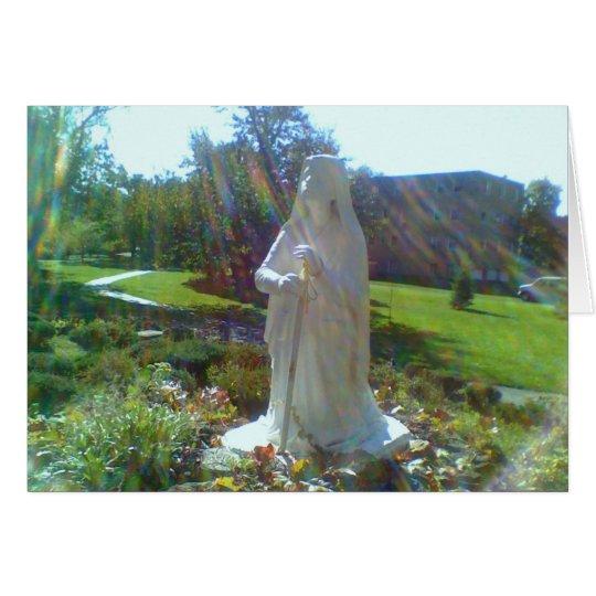 Grotto w/ St. Bernadette Card