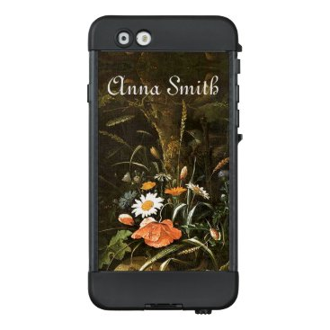 Grotto Wildflower Flowers Painting LifeProof Case