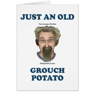 Grouch Potato Card