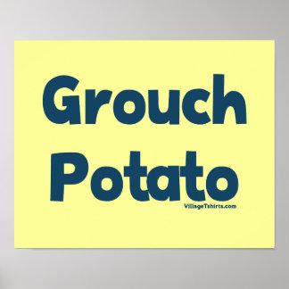 Grouch Potato Print