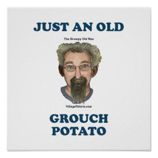 Grouch Potato Posters