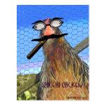 Groucho Chicken Post Card