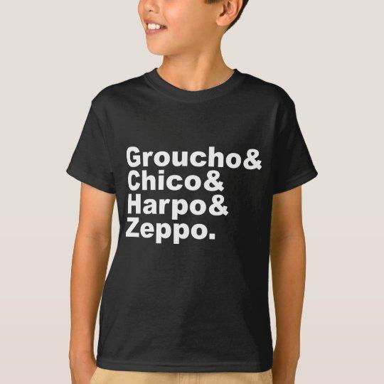 Groucho & Chico & Harpo & Zeppo T-Shirt