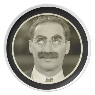 Groucho Marx Dinner Plate