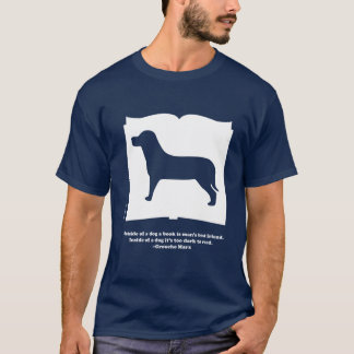 Groucho Marx Dog Book Quote Shirt