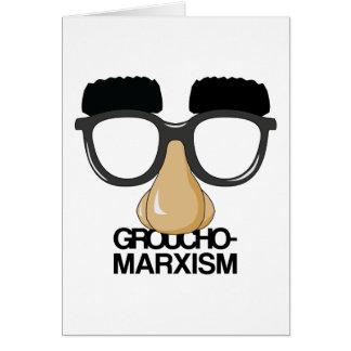 Groucho-Marxism Card