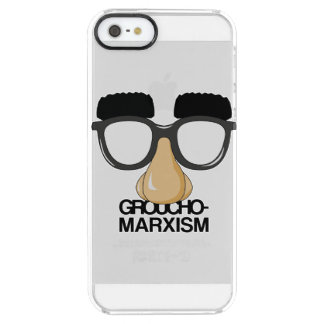 Groucho-Marxism Clear iPhone SE/5/5s Case