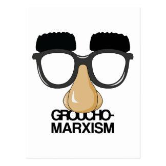 Groucho-Marxism Postcard