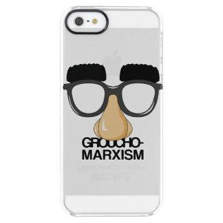 Groucho-Marxismo Funda Clearly™ Deflector Para iPhone 5 De Uncommon