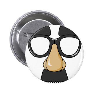 groucho pinback button