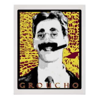 groucho póster