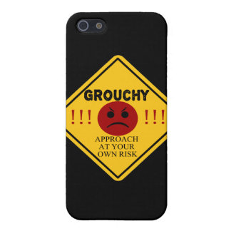 Grouchy. Approach At Your Own Risk Cover For iPhone SE/5/5s