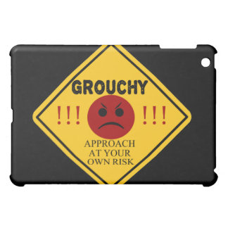 Grouchy. Approach At Your Own Risk Cover For The iPad Mini