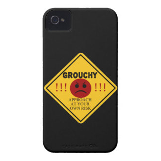 Grouchy. Approach at your own risk. iPhone 4 Case-Mate Case