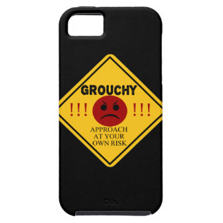 Grouchy. Approach at your own risk. iPhone SE/5/5s Case
