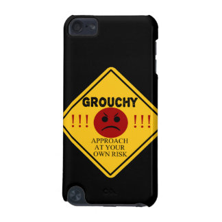 Grouchy - Approach At Your Own Risk! iPod Touch (5th Generation) Cases