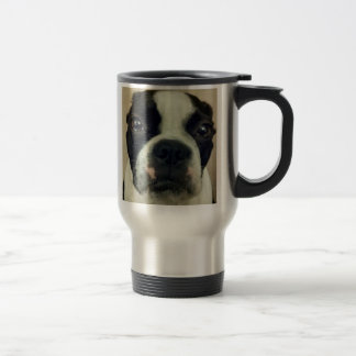 Grouchy Boston Terrier/Morning Person Mug