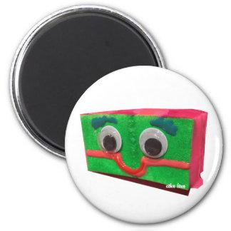 Grouchy Cake 2 Inch Round Magnet