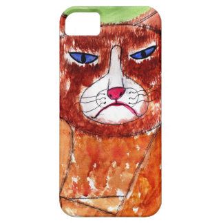 Grouchy Cat iPhone SE/5/5s Case