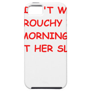grouchy iPhone SE/5/5s case