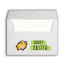 Grouchy Rabbit Easter A7 Card Envelope