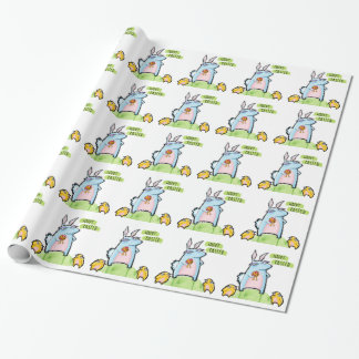 Grouchy Rabbit Easter Wrapping Paper
