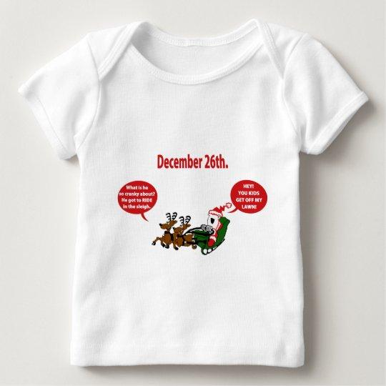 Grouchy Santa Baby T-Shirt