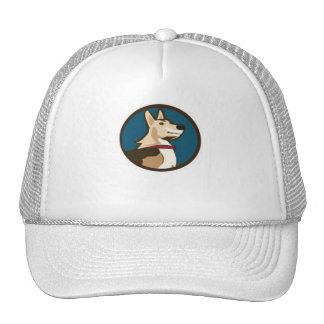 GrouchyPuppy Logo Baseball Cap Trucker Hat