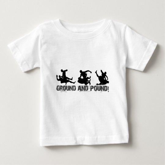 Ground and Pound Line Baby T-Shirt