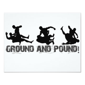 Ground and Pound Line Card
