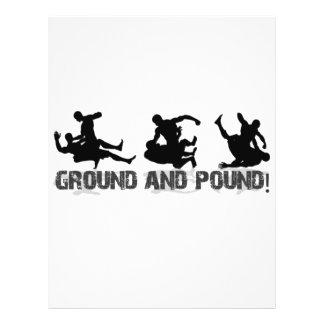 Ground and Pound Line Flyer Design