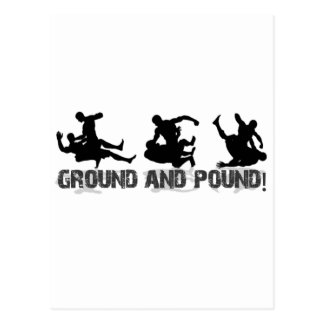 Ground and Pound Line Postcard