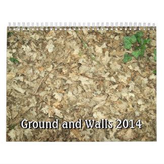 Ground and Walls 2014 Wall Calendars