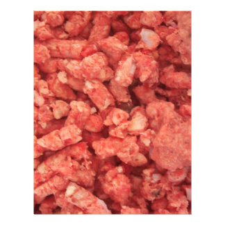 Ground Beef Meat Bacon Flyer