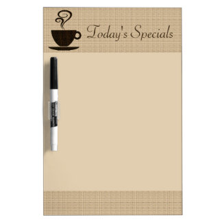 Ground Coffee Board Dry Erase Whiteboards
