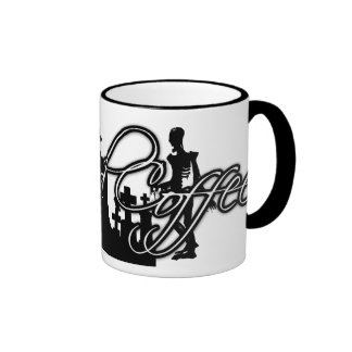 GROUND COFFEE ZOMBIE GRAVE RINGER MUG