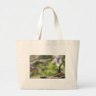 Ground finch Galapagos Islands Canvas Bag