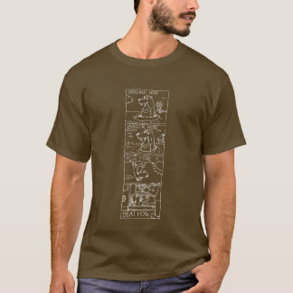 Ground Hog Chart Line T-Shirt