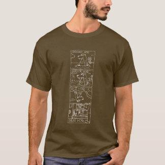 Ground Hog Chart Line T-Shirt