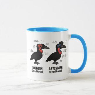 Ground Hornbil Statistics Mug