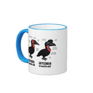Ground Hornbil Statistics Ringer Mug