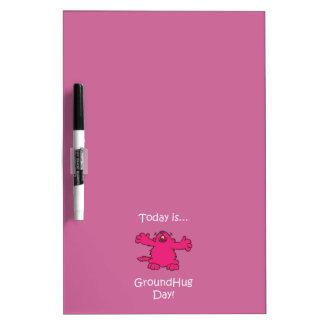 Ground Hug Day Dry-Erase Board
