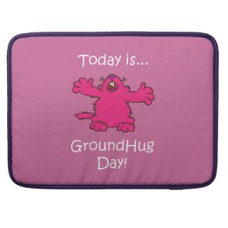 Ground Hug Day Sleeve For MacBook Pro