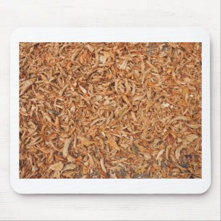 Ground in the park, covered with fallen leaves of mouse pad