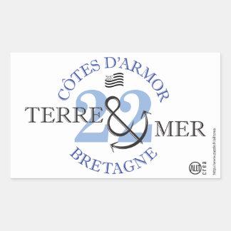 Ground-MER Coasts of Armor Rectangular Sticker