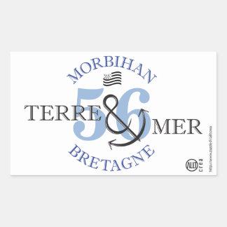 Ground-MER Morbihan Rectangular Sticker